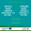 SEMINARIO ONLINE 'URGENCIA CLIMÁTICA Y CULTURA' EL 24 DE ABRIL