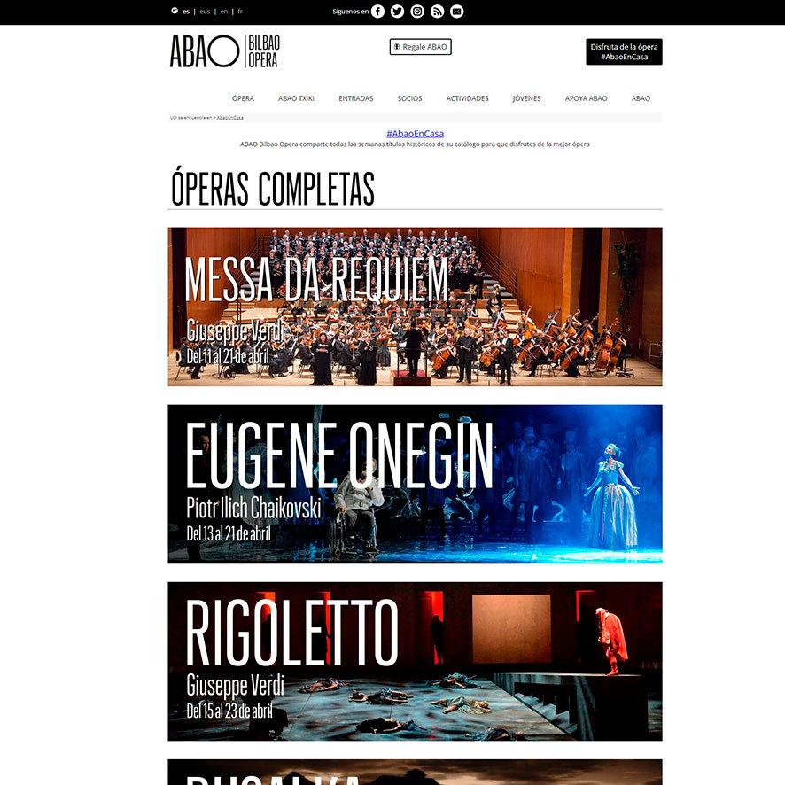 ABAO Bilbao Opera