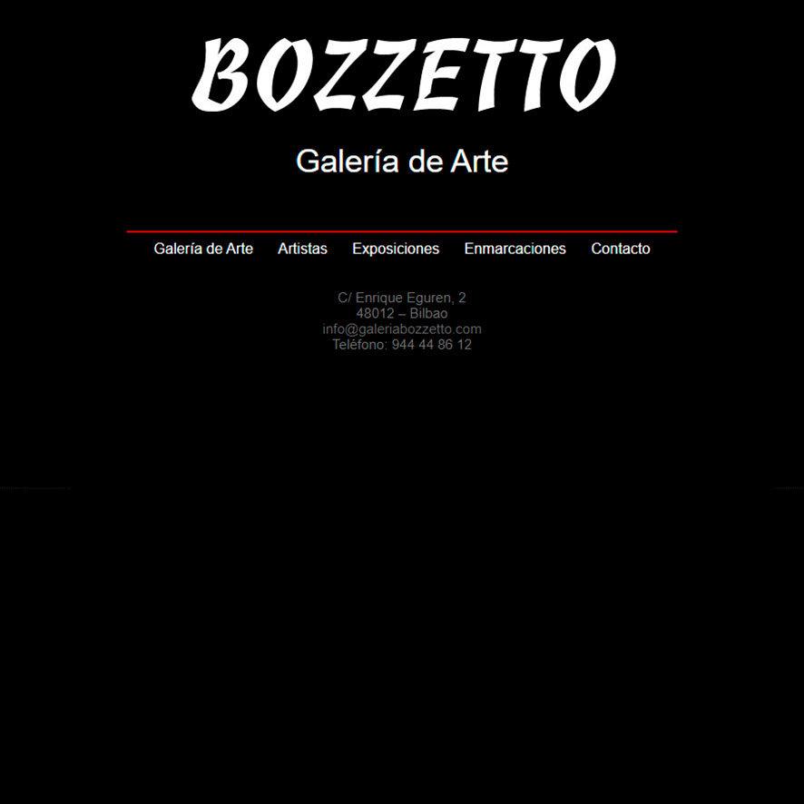 GALERÍA BOZZETTO