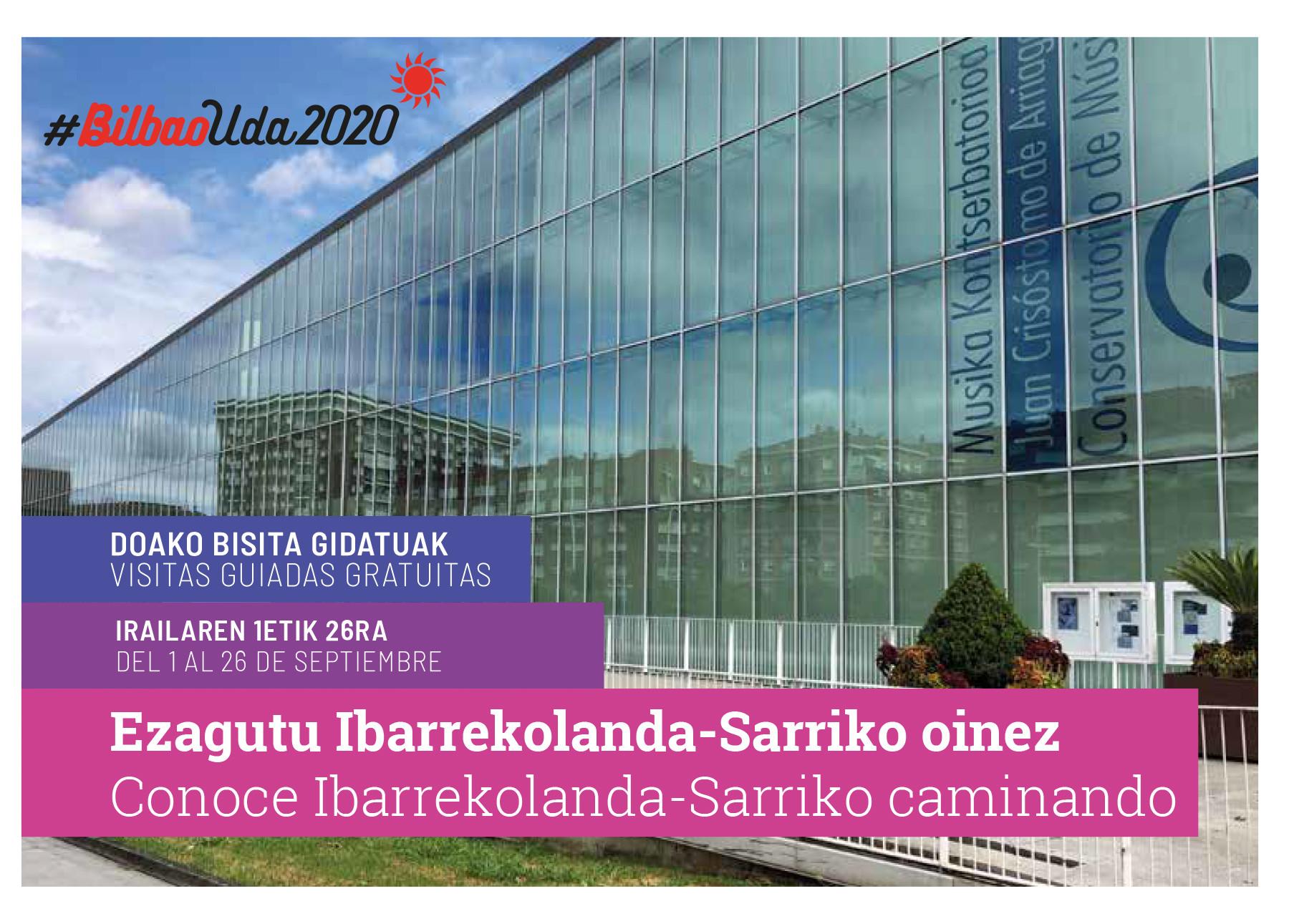CONOCE IBARREKOLANDA + SARRIKO CAMINANDO - SEPTIEMBRE